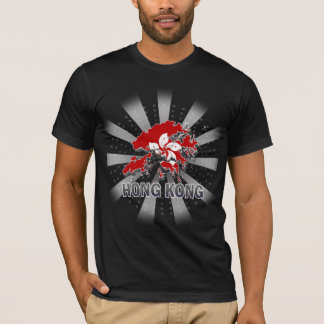 Hong Kong Flag Map 2.0 T-Shirt