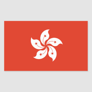Hong Kong Flag Sticker