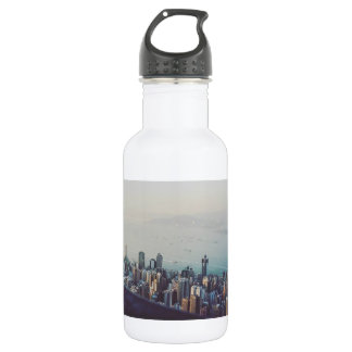 Hong Kong From Above 532 Ml Water Bottle