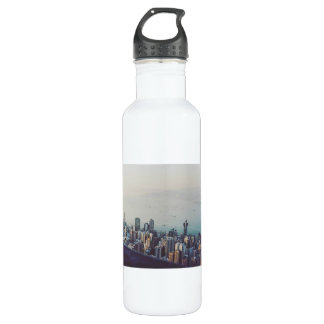 Hong Kong From Above 710 Ml Water Bottle