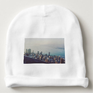Hong Kong From Above Baby Beanie