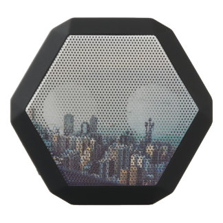 Hong Kong From Above Black Bluetooth Speaker