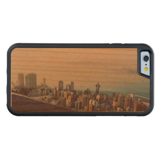Hong Kong From Above Carved Cherry iPhone 6 Bumper Case