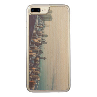 Hong Kong From Above Carved iPhone 8 Plus/7 Plus Case