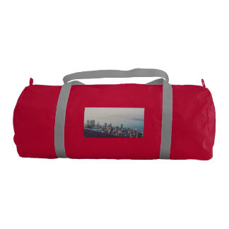 Hong Kong From Above Gym Bag