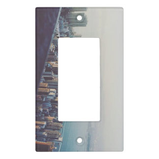 Hong Kong From Above Light Switch Cover