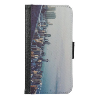 Hong Kong From Above Samsung Galaxy S6 Wallet Case