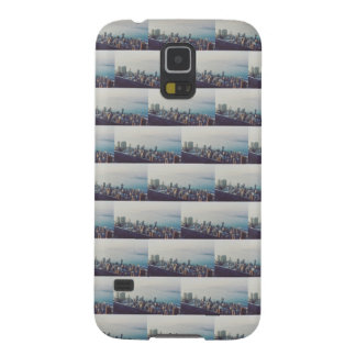 Hong Kong From Above Tile Pattern Galaxy S5 Cover