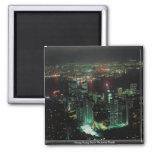 Hong Kong from Victoria Peak Fridge Magnets