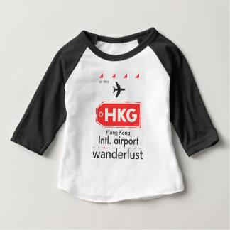 Hong Kong HKG airport code Baby T-Shirt