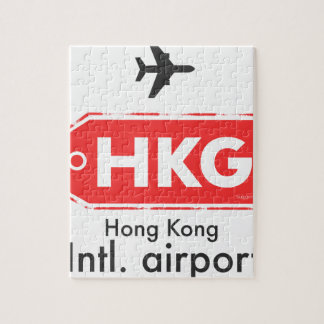 Hong Kong HKG airport code Jigsaw Puzzle