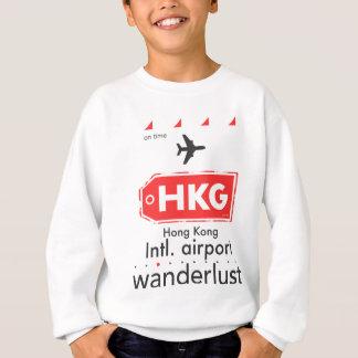 Hong Kong HKG airport code Sweatshirt