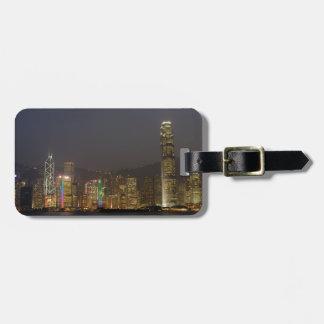 Hong Kong Island at night Luggage Tag