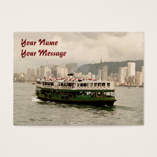 Hong Kong Island Ferry 2011 Calendar Business Card