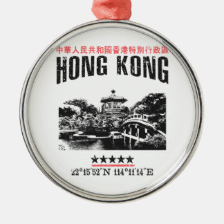 Hong Kong Metal Ornament