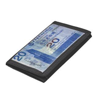 Hong Kong Money Tri-fold Wallet