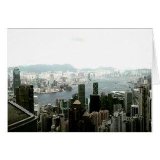 Hong Kong Notecards Card