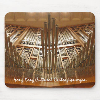 Hong Kong organ mousepad