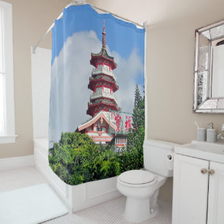 Hong Kong Pearl of the Orient Shower Curtain