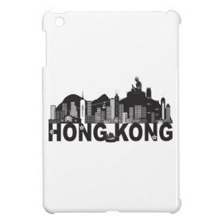Hong Kong Skyline Buddha Statue Text Cover For The iPad Mini