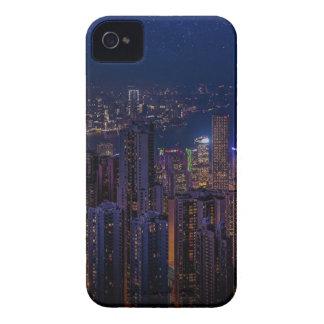 Hong Kong Skyline iPhone 4 Case-Mate Case
