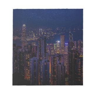 Hong Kong Skyline Notepad