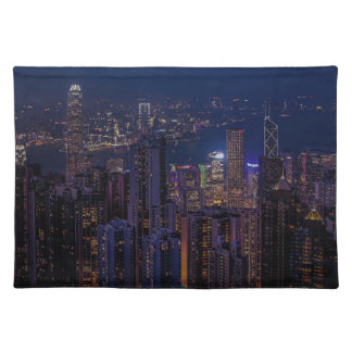 Hong Kong Skyline Placemat