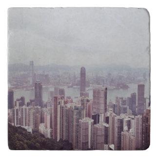 Hong Kong Skyline Trivet