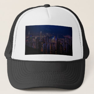 Hong Kong Skyline Trucker Hat