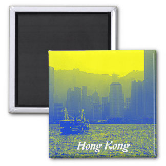 Hong Kong Square Magnet