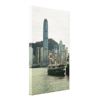 Hong Kong Star Ferry Canvas Print