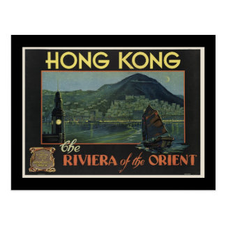 Hong Kong The Riviera of the orient Postcard