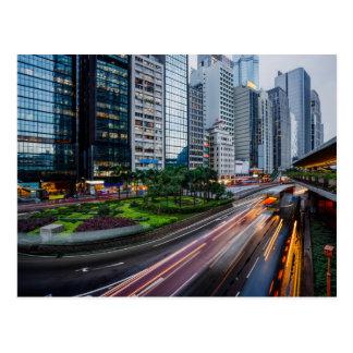Hong Kong Traffic postcard