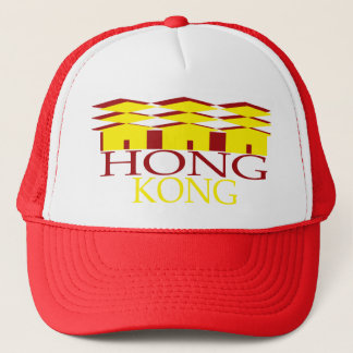 HONG KONG TRUCKER HAT