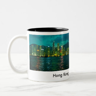 Hong Kong Two-Tone Coffee Mug