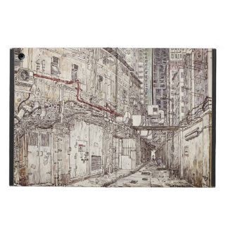 Hong Kong urban sketch. Kowloon iPad Air Cover