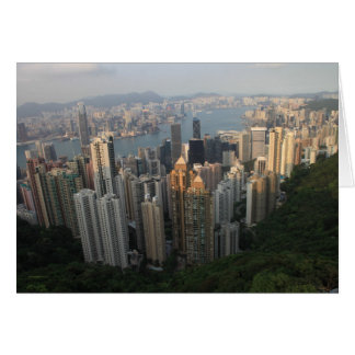 Hong Kong Victoria Peak Card