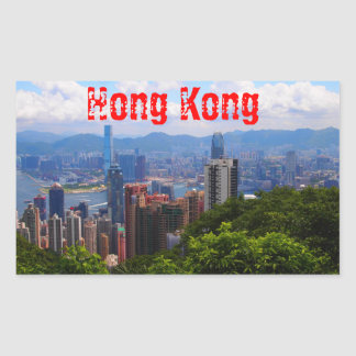 Hong Kong - Victoria Peak Sticker