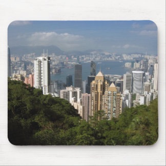 Hong Kong View Mouse Pad