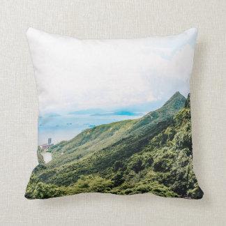 Hong Kong Views Throw Pillow