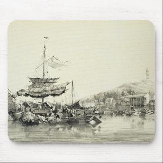 Hong Shang, plate 17 from 'Sketches of China', eng Mouse Pad