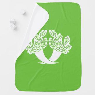 Honjo Japanese radish Baby Blanket