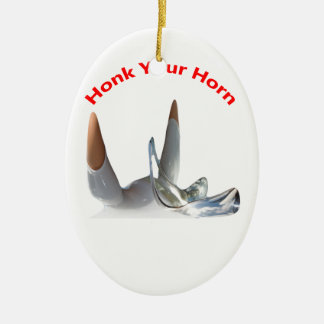 Honk Your Horn-Oval Ornaments