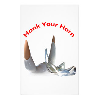Honk Your Horn Stationery Design