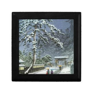 Honmonji Temple in Snow - Kawase Hasui 川瀬 巴水 Gift Box