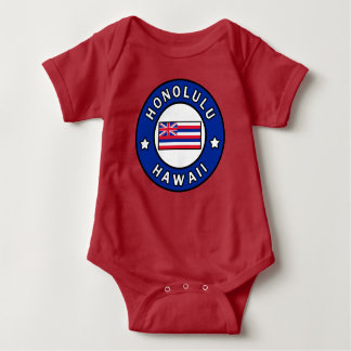 Honolulu Hawaii Baby Bodysuit