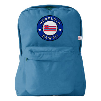 Honolulu Hawaii Backpack
