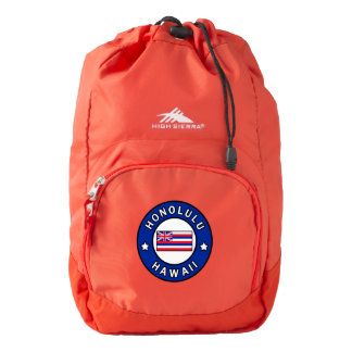 Honolulu Hawaii Backpack