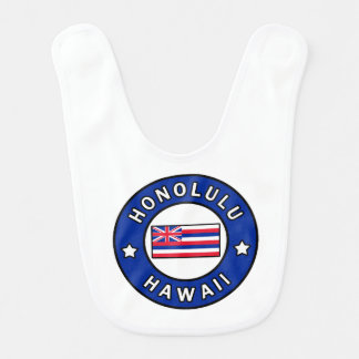 Honolulu Hawaii Bib