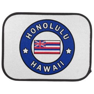 Honolulu Hawaii Car Mat